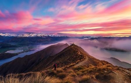 新西兰的美丽风景图片