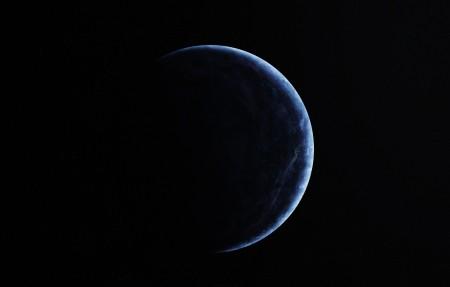 蓝色的星球4k高清桌面高端电脑桌面壁纸