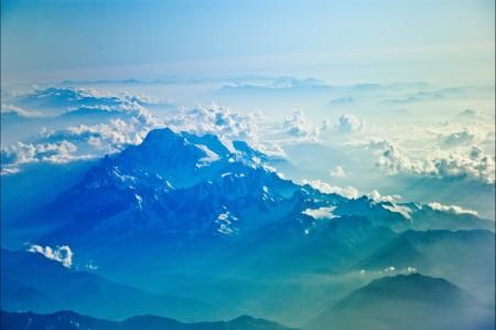 山 天空 云 4k风景图片