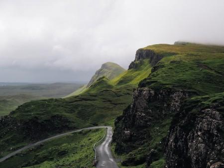高地 山 美丽的风景 山谷 景区4k风景图片