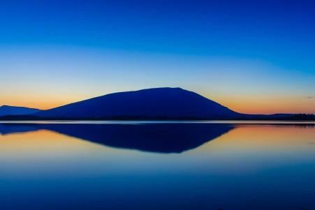 山,湖,爱尔兰风景图片