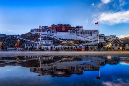 美丽的布达拉宫4k风景图片
