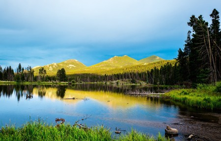 落基山国家公园风景高清图片