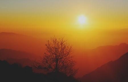 日出风景5k高清图片