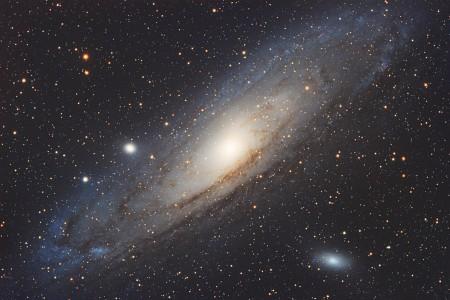 仙女座星空图片
