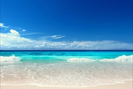 海景,海洋,蓝色,沙滩,阳光,大海风景图片