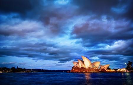 悉尼日落4k风景超高清壁纸精选