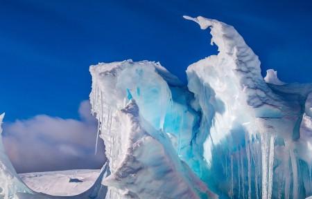 罗斯冰架 南极洲3440x1440风景超高清壁纸精选