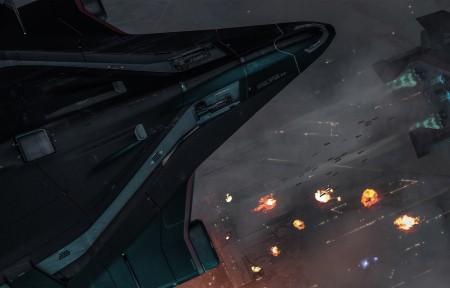 星际公民Star Citizen 飞船 战机 3440x1440壁纸超高清图片下载