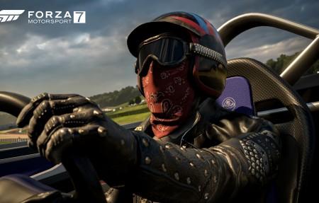 《极限竞速7(Forza Motorsport 7)》塞车手4k高端电脑桌面壁纸