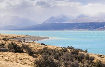 普卡基湖(Lake Pukaki)风景4k高端电脑桌面壁纸