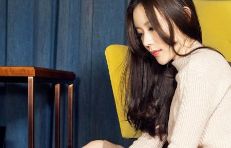 克拉女神-江琴3440x1440美女超高清壁纸精选