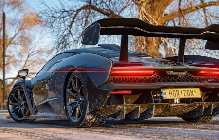 《极限竞速:地平线4(Forza Horizon 4)》游戏跑车3440x1440高端电脑桌面壁纸