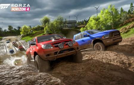极限竞速:地平线4 Forza Horizon 4 越野车 E3 2018 4k游戏高清壁纸极品游戏桌面精选