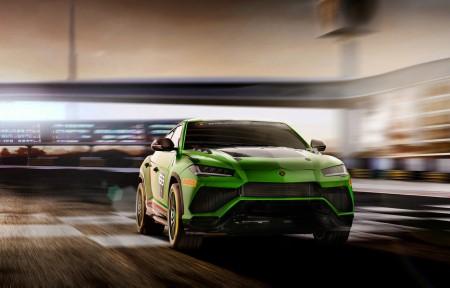 兰博基尼Lamborghini Urus ST-X 3440x1440超高清壁纸精选