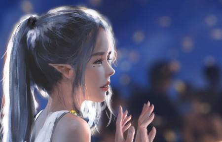 鬼刀冰公主海琴烟 舞会 3440x1440超高清壁纸精选