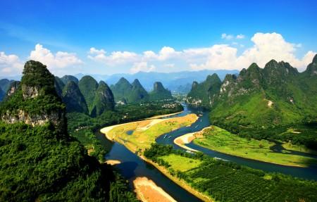 桂林山水风景4k高端电脑桌面壁纸