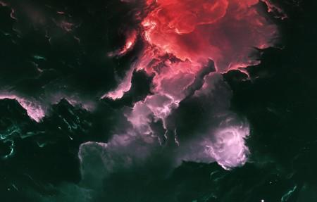 星系 黑暗 宇宙 星云4k高端电脑桌面壁纸