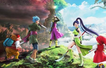 《勇者斗恶龙11(Dragon Quest XI)》3440x1440带鱼屏高清壁纸极品游戏桌面精选