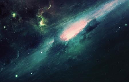 银河 空间 星星 宇宙 螺旋星系 宇宙空间4k高端电脑桌面壁纸