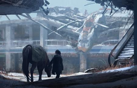 最后的生还者 The Last Of Us Concept Art 4k壁纸超高清图片下载