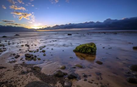 卡纳帕里海岸日落4k风景高端电脑桌面壁纸