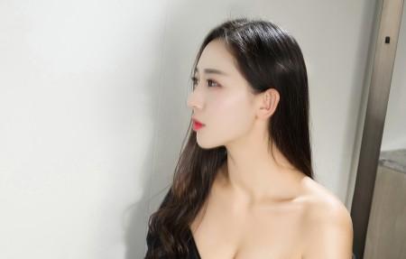 长发侧脸美女姜璐4k高端电脑桌面壁纸
