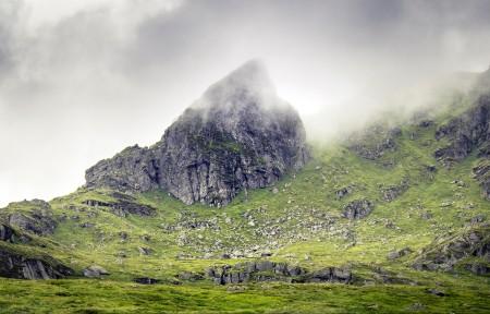 苏格兰南部高地的山3440x1440风景高端电脑桌面壁纸