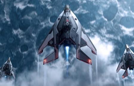 星际公民 star citizen 太空飞船4k游戏高端电脑桌面壁纸