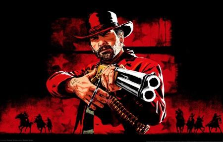 《Red Dead Redemption 2》亚瑟摩根4k游戏高端电脑桌面壁纸3840x2160