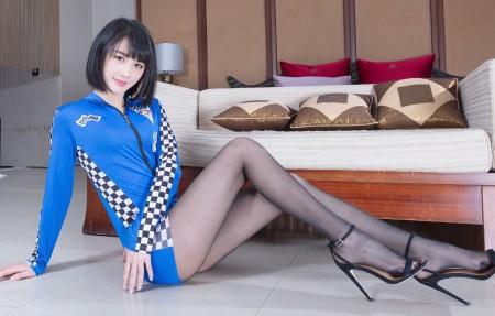 腿模Wendy黑色丝袜美腿4k美女高端电脑桌面壁纸3840x2160