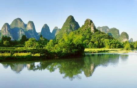 桂林山水风景图片,桂林山水全景图,桂林山水风景6K高清大图