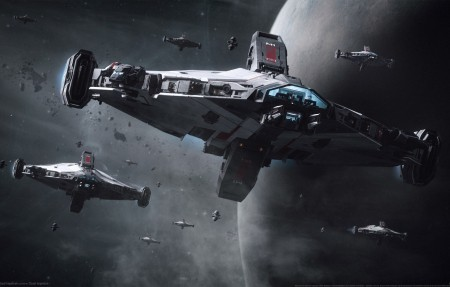 《星际公民 Star Citizen》太空飞船游戏4k高清壁纸极品游戏桌面精选