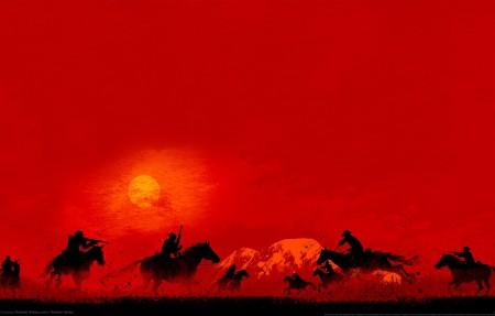 《荒野大镖客救赎2 Red Dead Redemption 2》4k高端电脑桌面壁纸