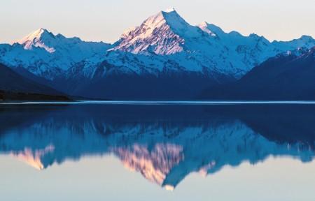湖泊山水倒影风景5120x1440超高清壁纸推荐