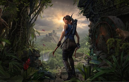 《Shadow of the Tomb Raider》古墓丽影暗影劳拉4k游戏高端电脑桌面壁纸
