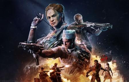 《使命召唤 黑色行动4 Call of Duty_ Black Ops 4 - Operation Apocalypse Z》4k游戏高端电脑桌面壁纸
