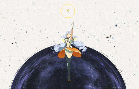旅行 星尘 VOCALOID 少女 4k动漫高端电脑桌面壁纸