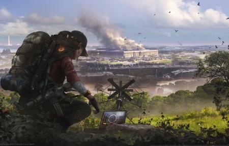 《全境封锁2 Tom Clancy's The Division 2》原画4k游戏高端电脑桌面壁纸