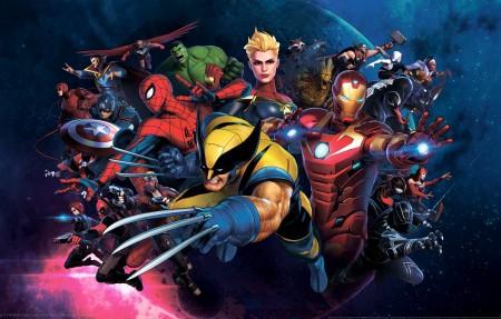 漫威终极联盟3:黑暗教团 Marvel Ultimate Alliance 3_ The Black Order 4k游戏高端电脑桌面壁纸