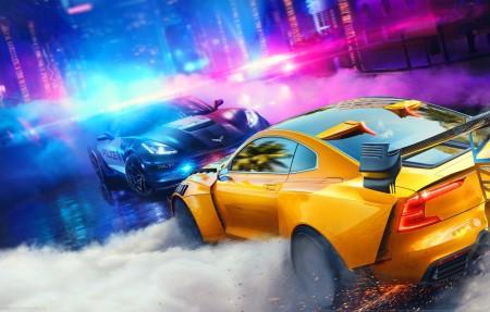 《极品飞车:热度(Need for Speed:Heat)》4k游戏高端电脑桌面壁纸