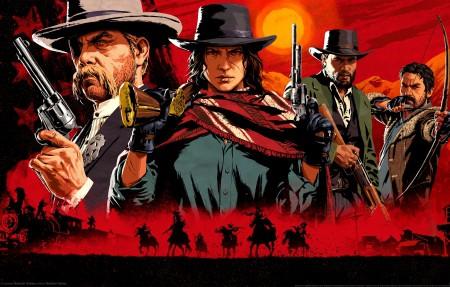 《Red Dead Redemption 2》4k游戏原画壁纸3840x2160