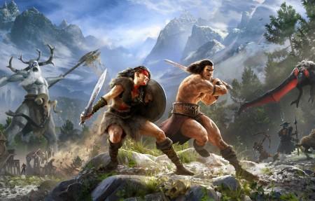 《Conan Exiles》4k游戏壁纸