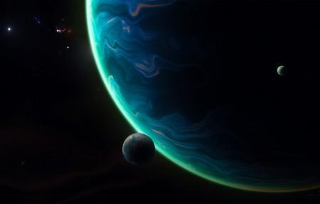 巨型行星太空4K壁纸极品壁纸推荐3840x2160