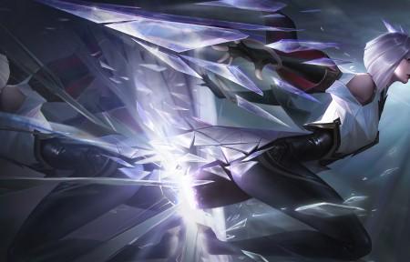 碎镜之刃镜 王者荣耀带鱼屏游戏壁纸高端桌面精选3440x1440