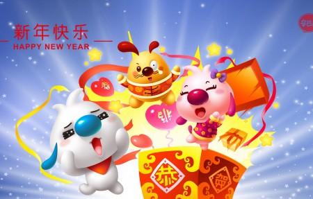 辛巴狗2020年恭贺新年4k壁纸极品游戏桌面精选3840x2160