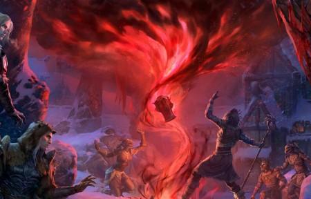 《The Elder Scrolls Online_ Harrowstorm》带鱼屏游戏壁纸高端桌面精选3440x1440