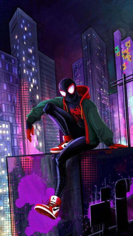 蜘蛛侠:平行宇宙极品游戏桌面精选4K手机壁纸
