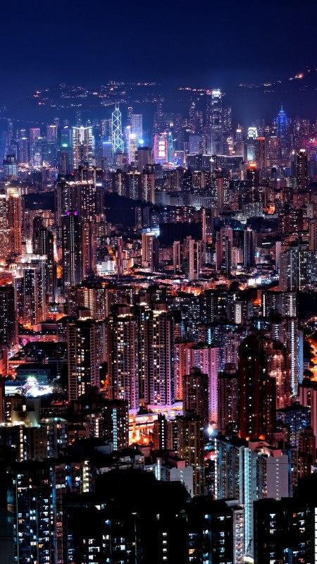 城市夜景极品游戏桌面精选4K手机壁纸