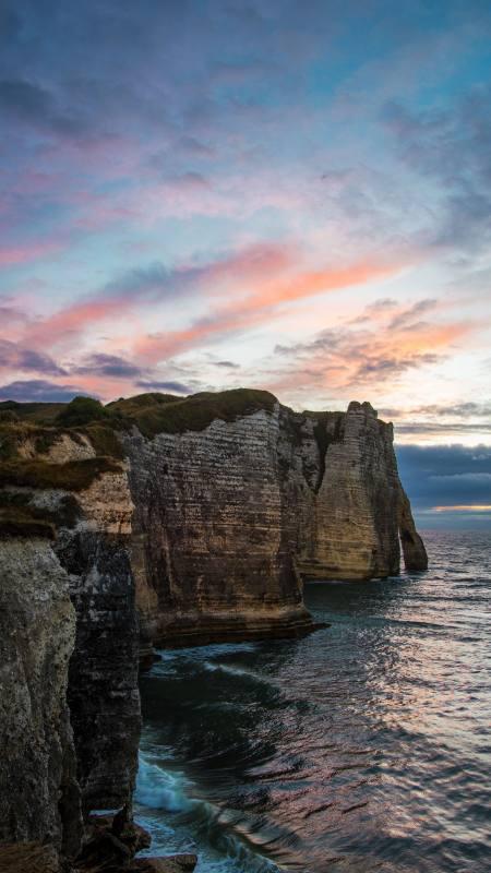 悬崖 海岸 海浪极品游戏桌面精选4K手机壁纸